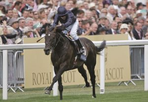 Yeats winning his first G1 Ascot Gold Cup