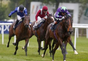 Ivawood winning the July Stakes