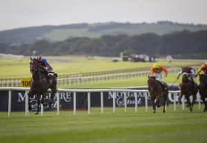 Order Of St George (Galileo) winning the G1 Irish St Leger at the Curragh