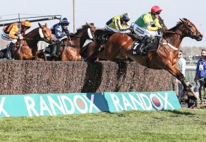 Requinto Dawn (Requinto) winning the Brocklesby