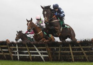 Queenohearts (Flemensfirth) Takes The Listed Mares Hurdle At Haydock